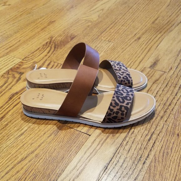 Target Leopard Print Sandals Brand